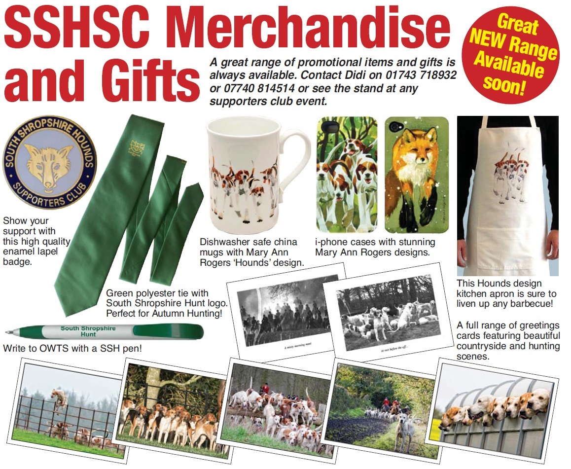 South Shropshire Hunt Merchandise
